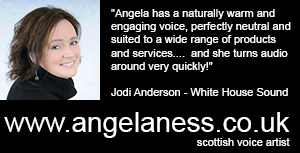 Angela Ness - Scottish Voice Artist